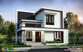 Simple Square House Design Simple Modern 4 Bedroom 1992 Sq Ft House Design Kerala