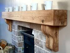 Oak Fireplace Mantel | eBay