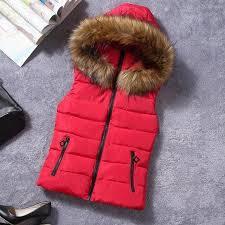 2018 Brand <b>Winter</b> Vest Women Jacket Coat Down <b>Cotton Casual</b> ...