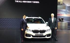 new car launches bmwAuto Expo 2016 Sachin Tendulkar Launches New BMW 7Series Prices