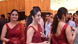 അതീവ സുന്ദരിയായി നമിത പ്രമോദ് - Glamorous Namitha Pramod Attending a  Marriage Function - YouTube