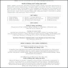 Coding Specialist Sample Resume Magnificent Sample Resumes For Medical Billing And Coding Specialist Resume Job
