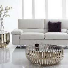 a glass top coffee table