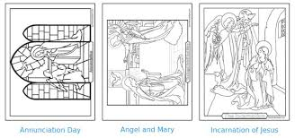 Small Picture mysteries of the rosary coloring pages 28 images joyful