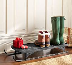 Decorative Boot Tray Shoe Tray Entryway Awesome Tahoe Sleigh Boot Pottery Barn Inside 60 50