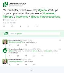 online action day greening europe s economy unternehmensgrun  twitter interview4