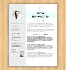 Instant Download Resume Template Cover Letter Editable Word Doc ...