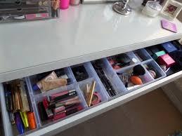makeup storage ikea malm dressing j malm dressing table drawer organizer
