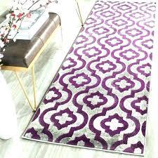 purple rug runner dark excellent whole