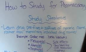 How To Study For Pharmacology In Nursing School