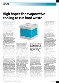 Evaptainers featured in June issue of Refrigeration and Air ...