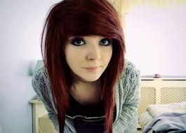 top 10 best stylish emo hairstyles for um length hair intended for side swept emo bangs