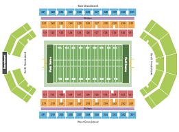 Alumni Arena Buffalo Seating Chart Buffalo Bulls Vs Bowling Green Falcons Events Sports