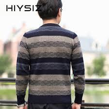 <b>HIYSIZ</b> Brand 2019 Winter Autumn Streetwear Knit Sweater <b>Men</b> ...