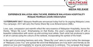 Experience Malaysia Healthcare Embrace Malaysian Hospitality Unique Message For My Healthcare And Love