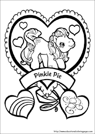 My Little Pony Coloring Pages Free For Kids Värityskuvia