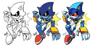 Sonic To Color Sonic Pictures To Color And Sonic Color Pages