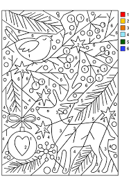 Nicole S Free Coloring Pages Christmas