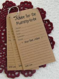 Baby Shower Notes Of Advice Book  HappyCardFactory DesignsBaby Shower Advice Ideas