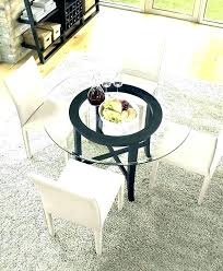 inch round glass dining table top set 48 patio replacement engaging roun