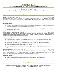 Tutor Resume Sample Simple Imposing Tutor Resume Sample Nursing