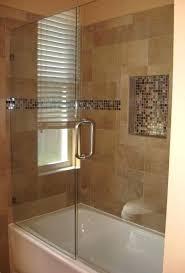 frameless bathroom shower doors almost looks like our bathroom tub shower but with glass shower door instead of curtain frameless sliding glass bathtub