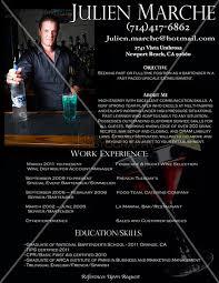 kimberlydaniels photo keywords  professional bartender  custom    julienmarcheresumebartending resumeprofessional bartenderbartender resumecustom bartending resumecustom bartender resumebartending templateprofessional