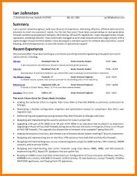 7 Cyber Security Analyst Resume Job Apply Letter