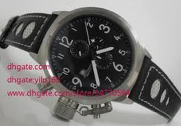 discount left handed watches quartz 2017 left handed watches discount left handed watches quartz top quality mens flightdeck left hand wind black chronograph swiss quartz