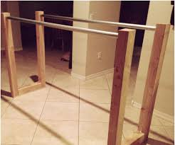 parallel bars for calisthenics and weight exercise