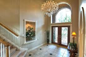 exquisite large foyer chandeliers on entry lighting ideas entryway crystal