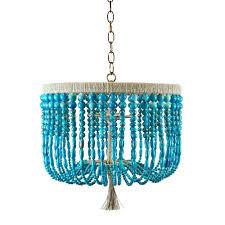 chandeliers turquoise beaded chandelier light turquoise beaded