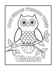 Coloring Pages Personalizedring Sheets Adult Free Picture Name