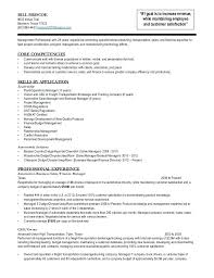 former business owner resume sample bill operations transportation  management 1 trail 12001