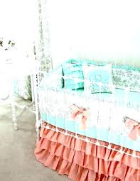 pink nursery bedding sets mint green baby bedding sets mint green and pink nursery mint green