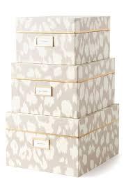 Decorative Storage Box Sets Pretty Stationary Storage Boxes 52