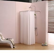 corner shower ideas curtain. Beautiful Shower Corner Shower Curtain Rod Clawfoot Bathtub Curved L  Best Shower Curtain  Ideas With Ideas N