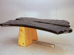 modern wood and metal furniture. Custom Made Modern Wood Metal Cocktail Table And Furniture