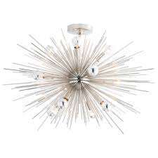 ask question about arteriors zanadoo polished nickel short chandelier