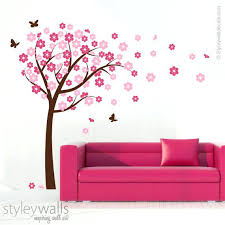 cherry blossom tree wall decal cherry blossom tree cherry blossom tree wall decal for nursery