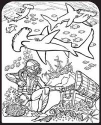 Small Picture Shark Coloring Pages The Best of Shark Week Pinterest Shark