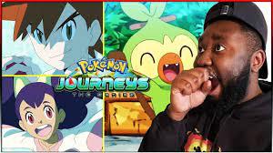 GARY & IRIS RETURN! GROOKEY DEBUT & NEW POKEMON! | Pokemon Journeys Opening  3 REACTION! - YouTube