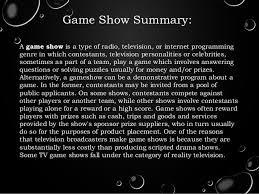 Gameshow Powerpoint Media