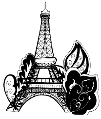 Small Picture Coloring Pages Free Printable Eiffel Tower Coloring Pages For