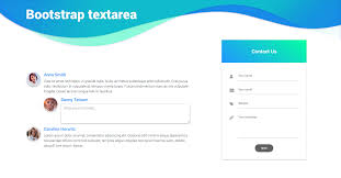 bootstrap textarea examples tutorial basic advanced usage material design for bootstrap
