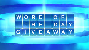 the word of the doctors word of the day giveaway