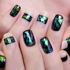 10/20 Colors Nail Art Latest Holographic Glass Nail Foils Shiny ...