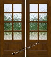 glass double door exterior. Nice Glass Double Door Exterior With Doors Solid Mahogany Wood E