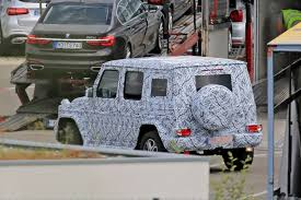 2018 mercedes benz gls class. perfect 2018 spy the 2018 mercedesbenz gclass facelift w 464 shows up for the first  time in mercedes benz gls class
