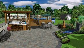 Small Picture Free 3D Landscape Design Software With Small Pond Mini Bar Dugas